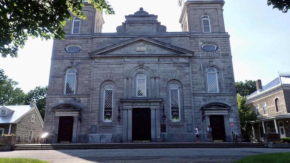 L'église de la Visitation, à Montréal, vue de face.