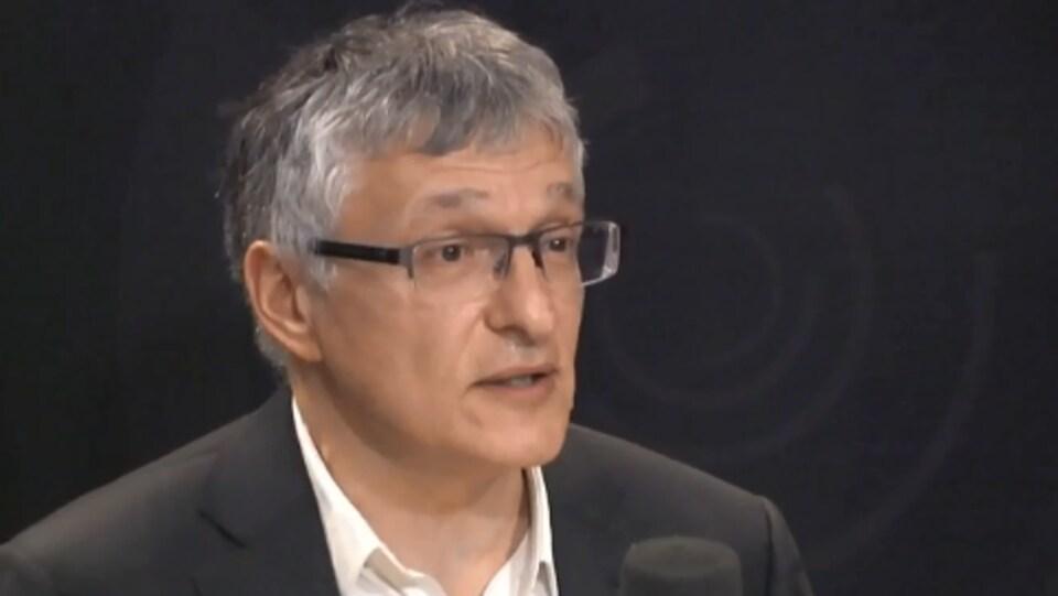 Le géologue Jean-Marc Lulin