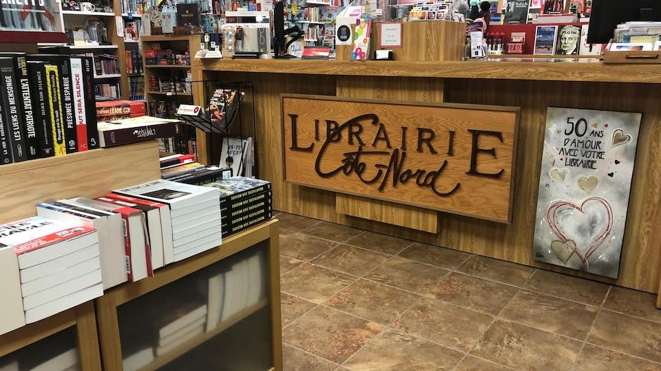 La Librairie Côte-Nord, à Sept-Îles.