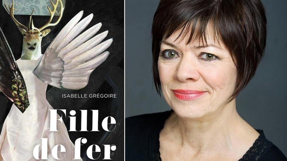 Couverture du livre Fille de fer de l'auteure Isabelle Grégoire