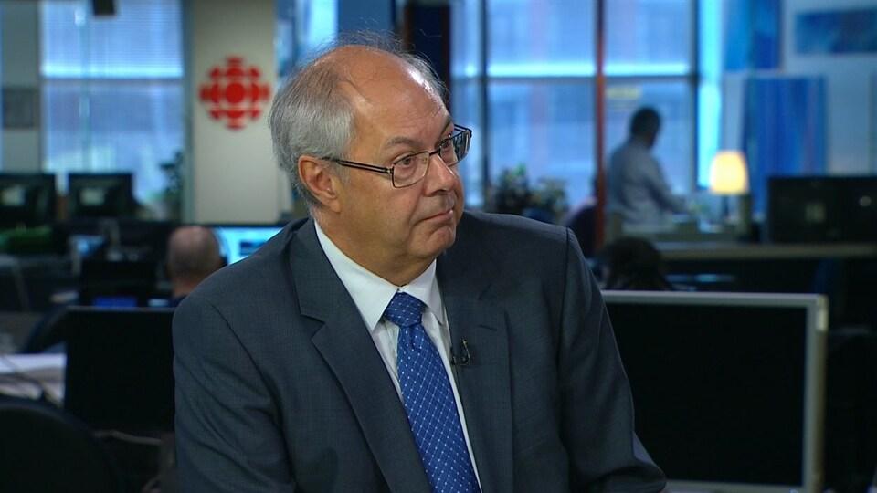 Louis Godin, président de la Fédération des médecins omnipraticiens du Québec