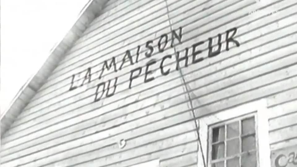 Un mur extérieur de La maison du pêcheur.