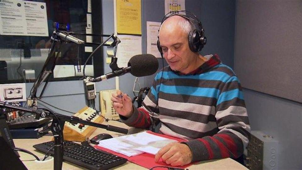 Marcel Marsolais, enseignant en science politique au Cégep de Baie-Comeau.