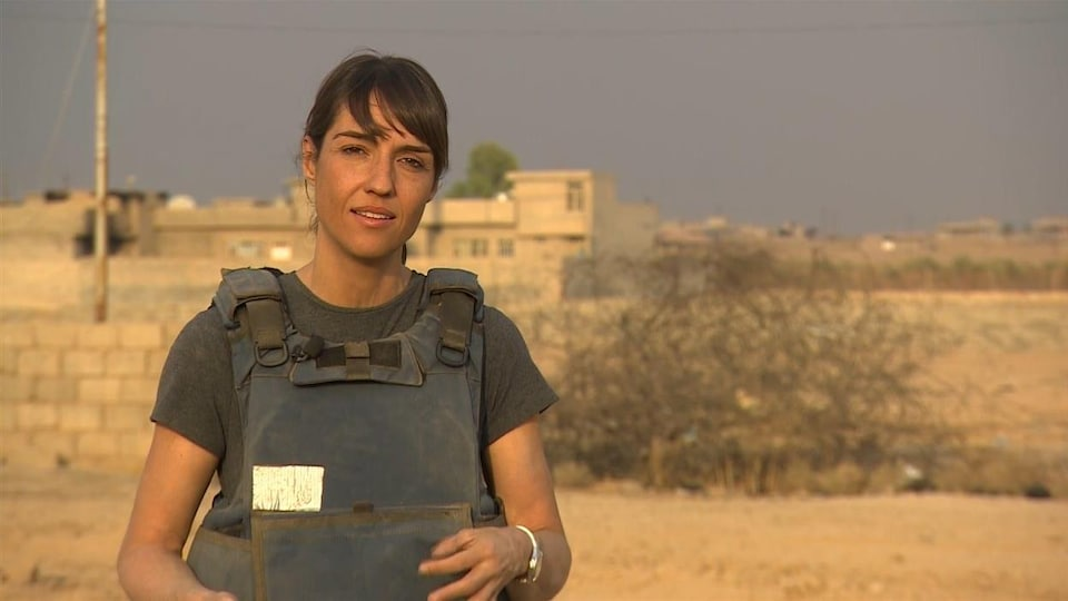 Marie-Eve Bédard, envoyée spéciale de Radio-Canada en Irak