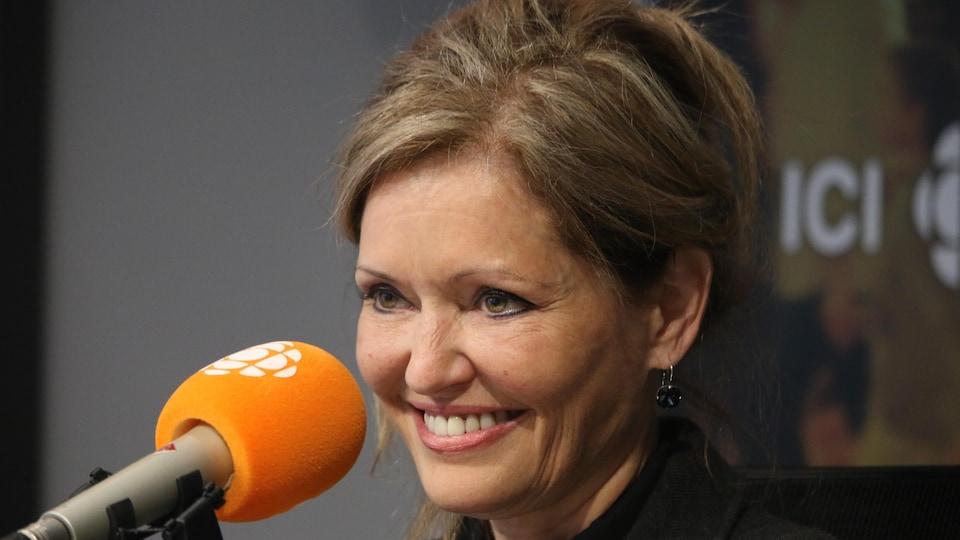 Marie-Josée Guérette, en studio