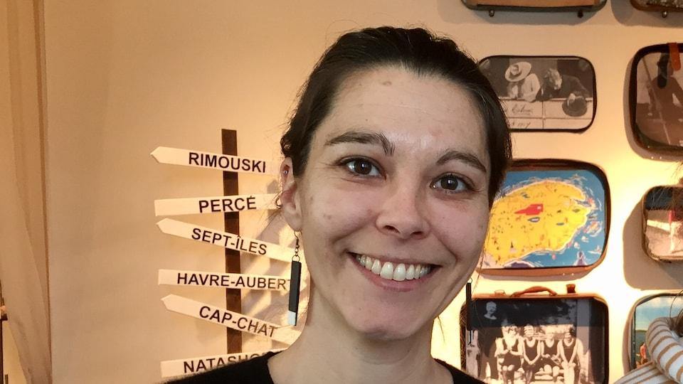 Marie-Josée Lemaire-Caplette, rédactrice en chef du Magazine Gaspésie