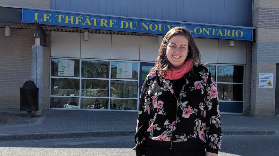 La directrice artistique du Théâtre du Nouvel-Ontario, Marie-Pierre Proulx.