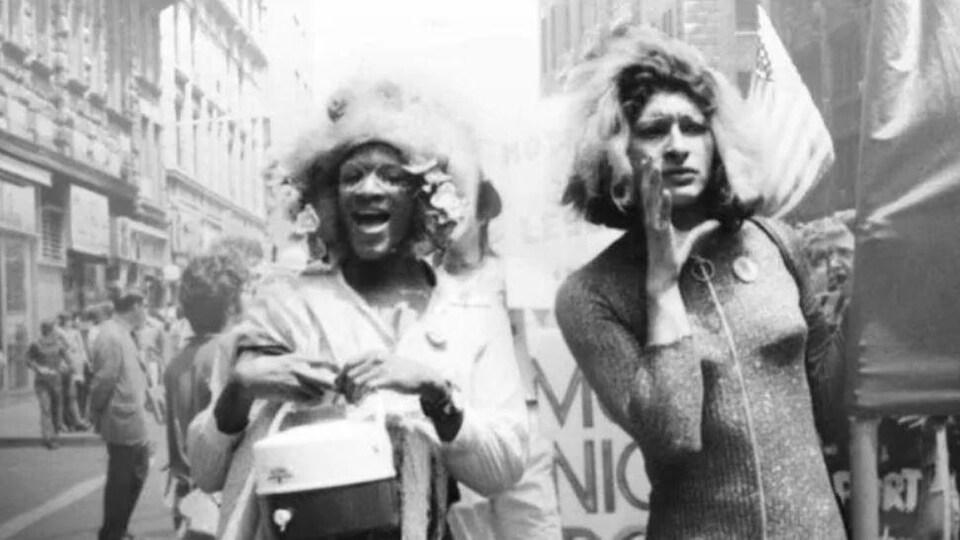 Marsha P. Johnson et Sylvia Rivera