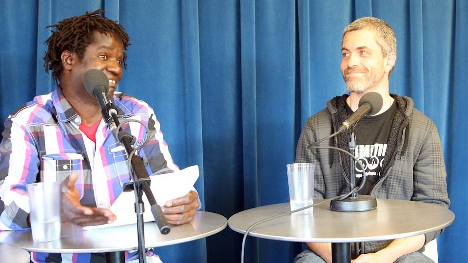 Le survivaliste Mathieu Hébert, en entrevue a l'émission La nature selon Boucar