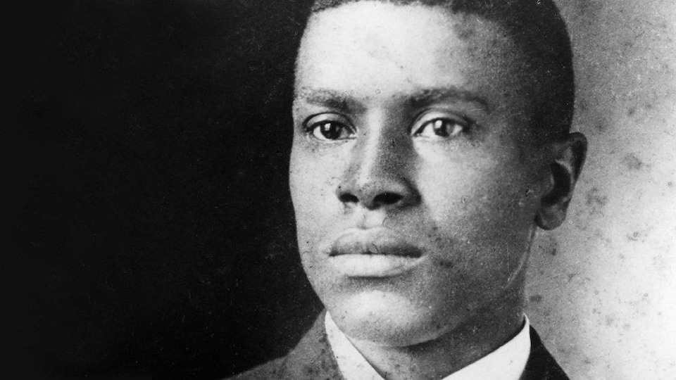 Une image du cinéaste afro-américain Oscar Micheaux.