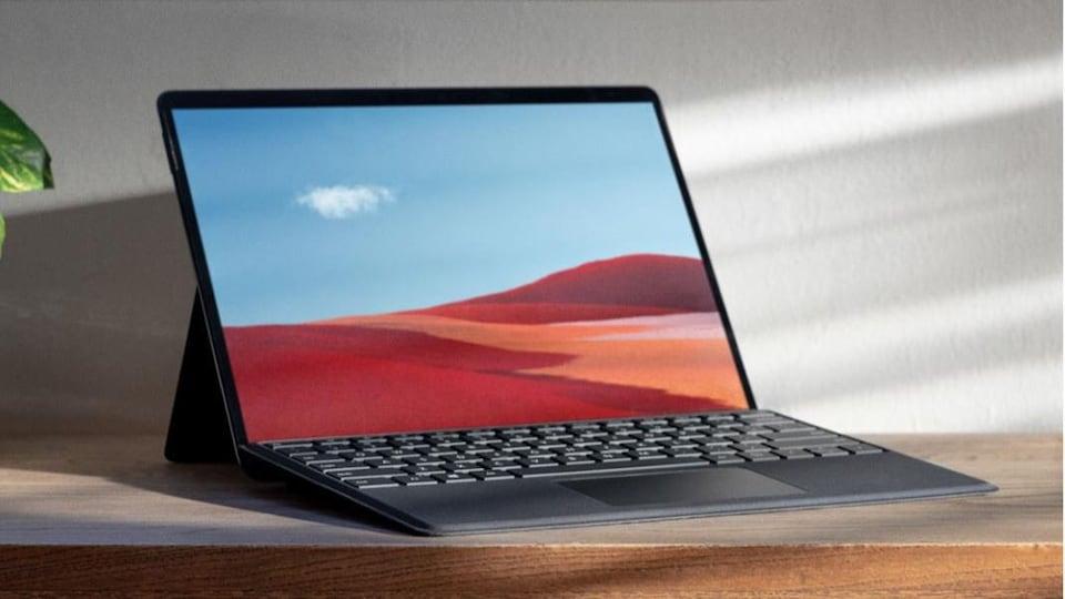 Tablette Microsoft Surface Pro X