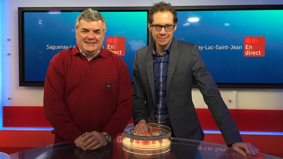 Michel Gagné et Christian Grégoire