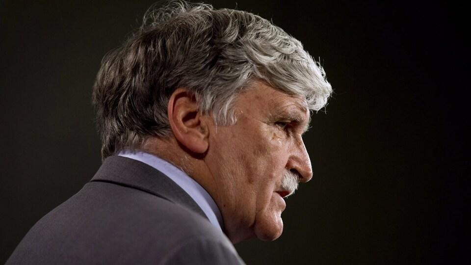 Le général à la retraite Roméo Dallaire.