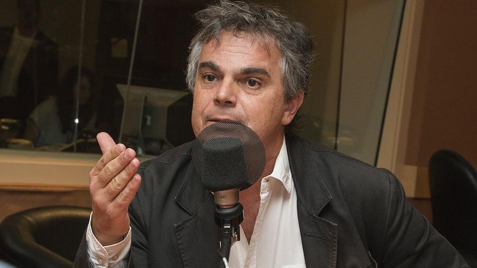 Alexandre Jardin au micro de Stéphan Bureau