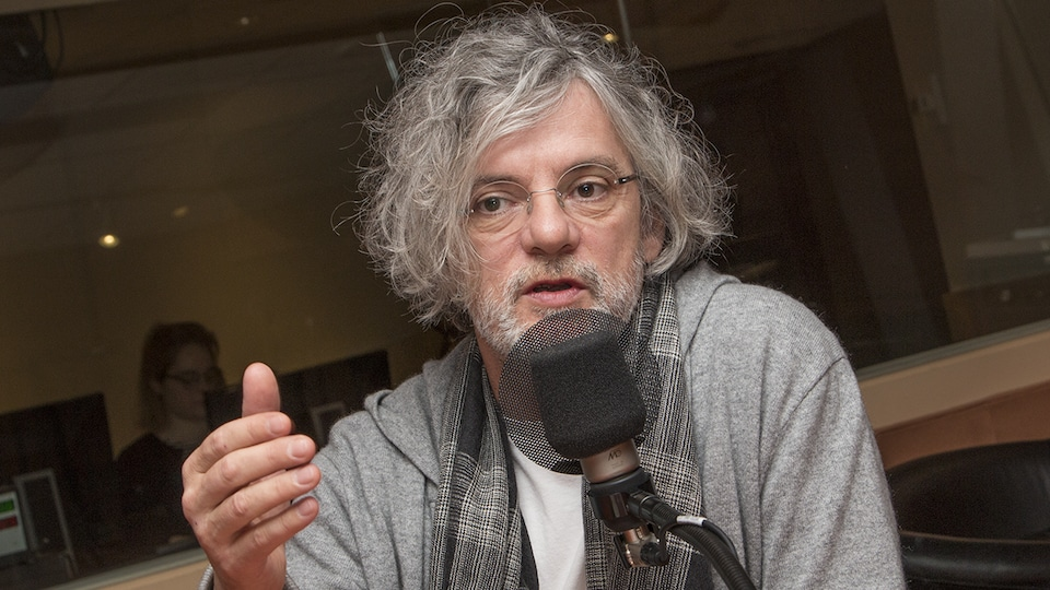 François Girard au micro de Catherine Perrin.