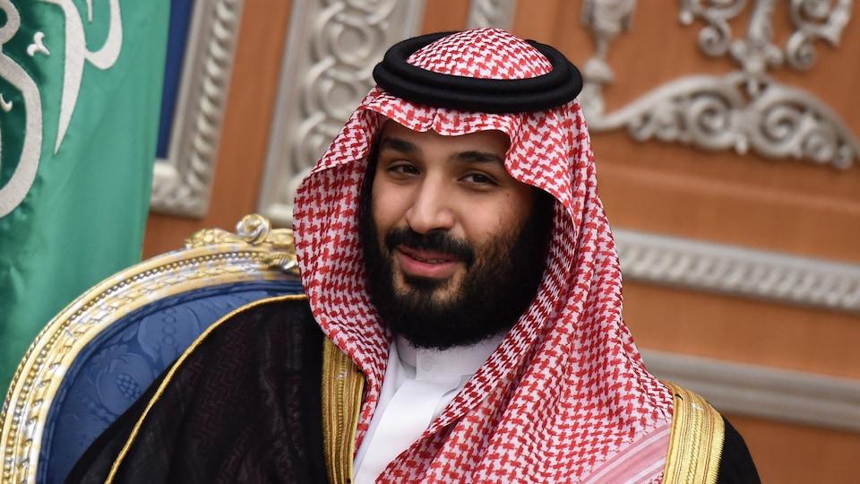 Mohammed bin Salman à Riyad, le 14 novembre 2017.