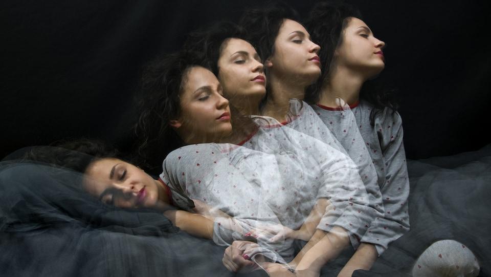 Le somnambulisme est la parasomnie la plus connue.