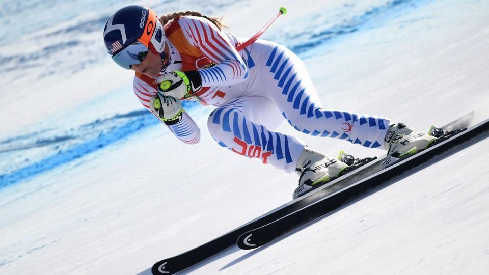 La skieuse Lindsay Vonn.