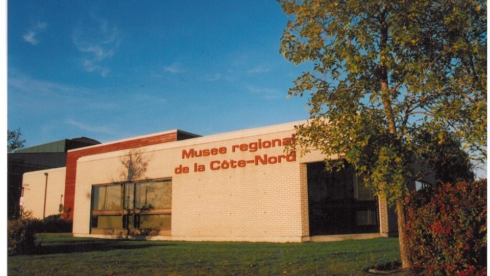 La façade du Musée régional de la Côte-Nord.