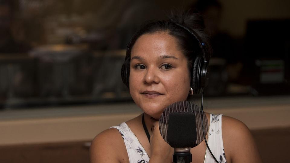 L'écrivaine Naomi Fontaine