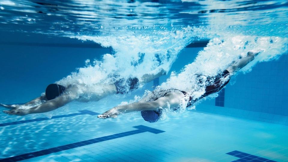 Les utilisateurs de la piscine de l'UQTR doivent prendre leur mal en patience, car tout indique que le chantier s'étirera jusqu'en mai 2021.