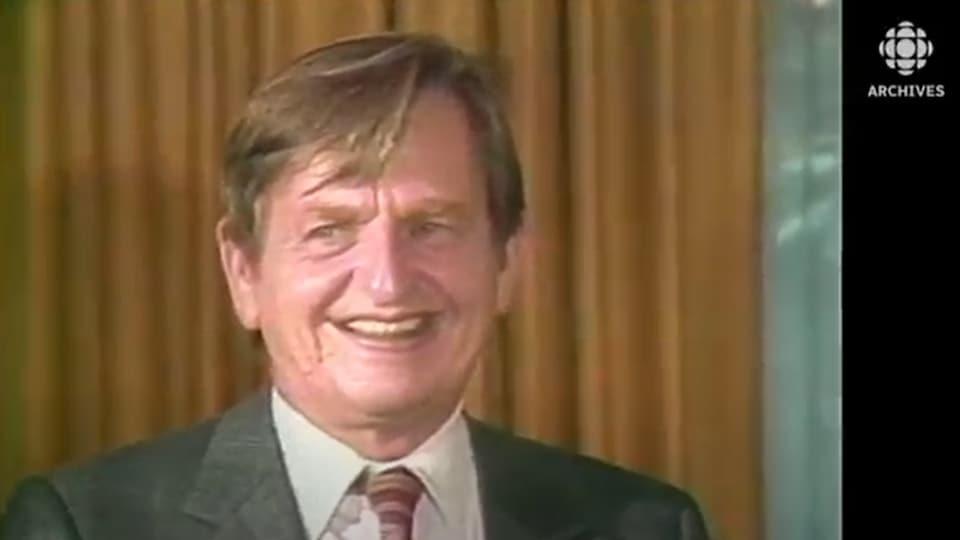 Olof Palme en 1983.