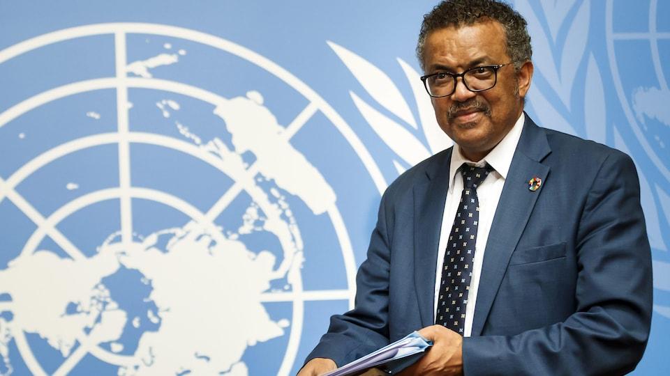 Le directeur général de l'Organisation mondiale de la santé, Tedros Adhanom Ghebreyesus.