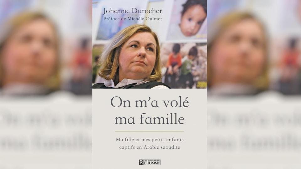 Couverture du livre avec le titre et la photo de Johanne Durocher.
