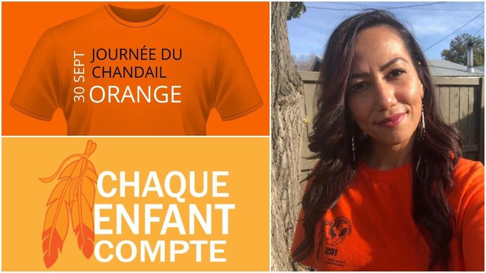 Logo pour la journée du chandail orange
