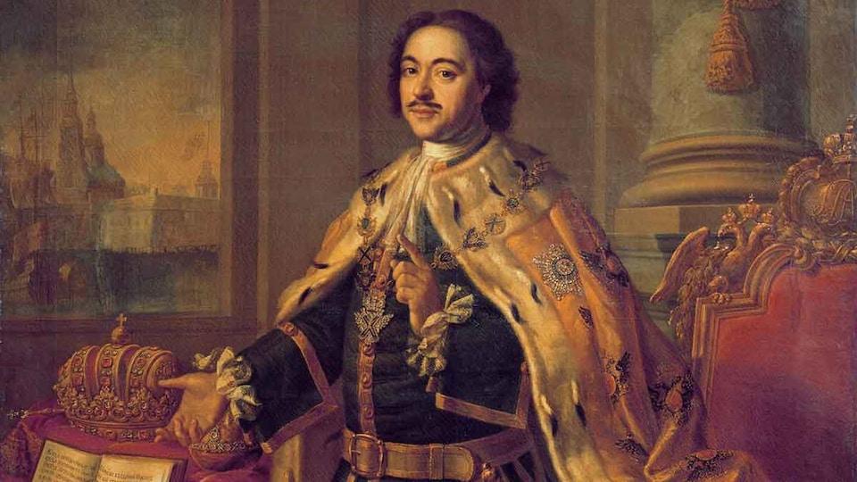 Une peinture du tsar
