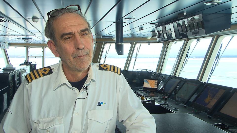 Philippe Hémart, capitaine du Bella-Desgagnés