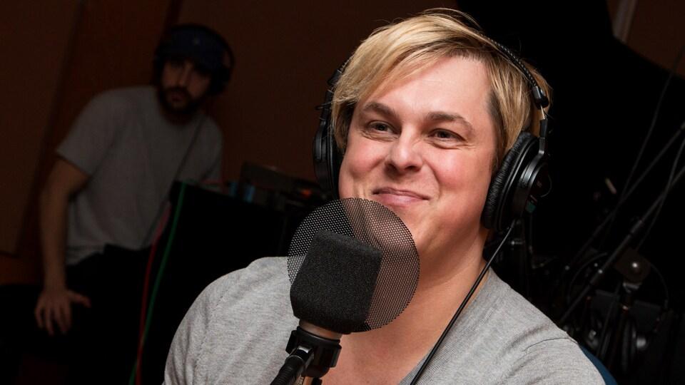 Alex Perron sourit