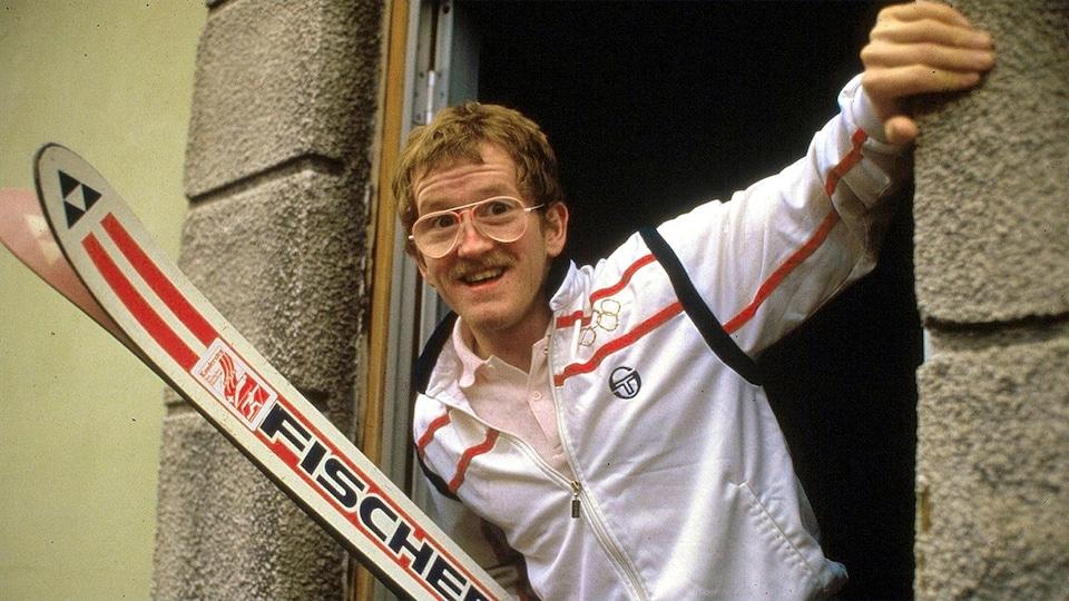 Le skieur britannique Eddie «The Eagle» Edwards.