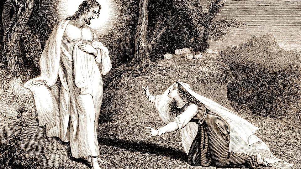 Jésus apparaissant à Marie-Madeleine.