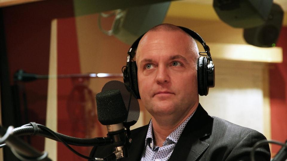 Éric Parent, spécialiste en sécurité informatique et PDG d'EVA-Technologies.