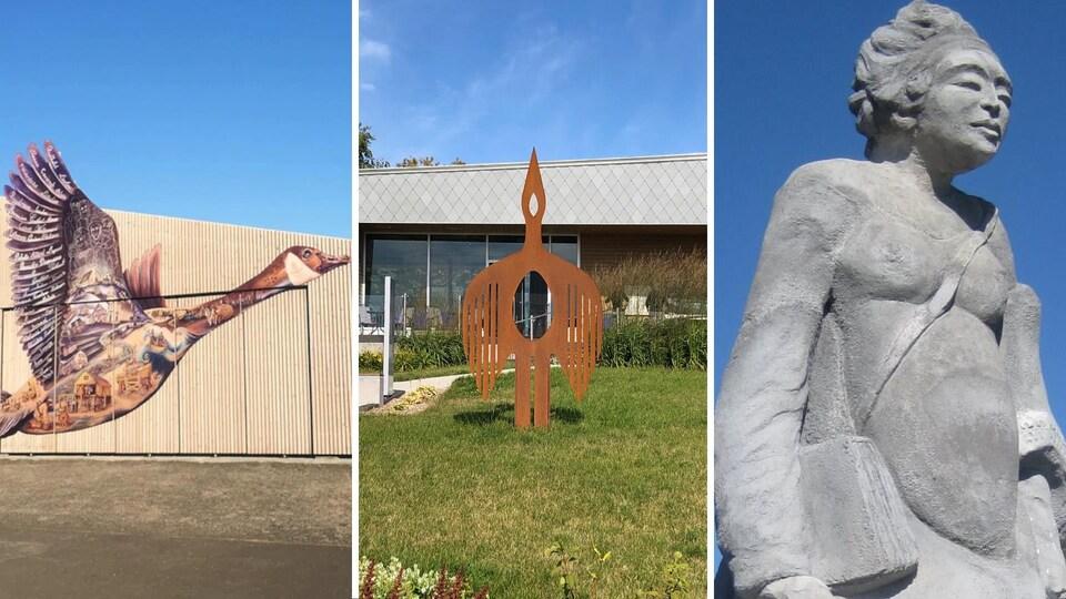 Les propositions d'art public de Marie Nowak à visiter cet été en Gaspésie