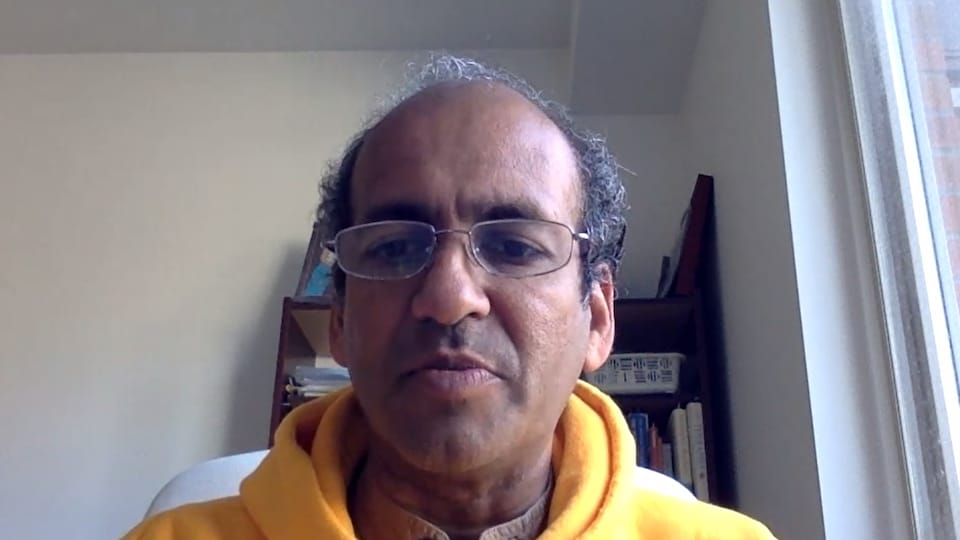 Dr M.V. Ramana, professeur à l'École de politiques publiques et d'affaires internationales de l'Université de Colombie-Britannique.