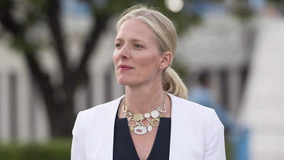 La ministre de l'Environnement du Canada, Catherine McKenna