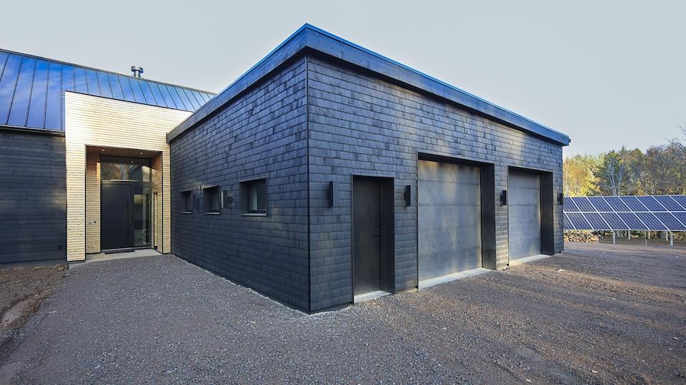 Une maison autosuffisante.
