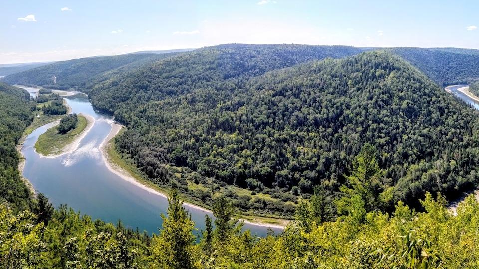 Rivière Restigouche.