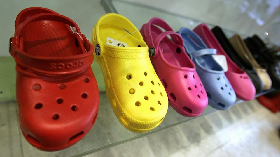 Des sandales Crocs