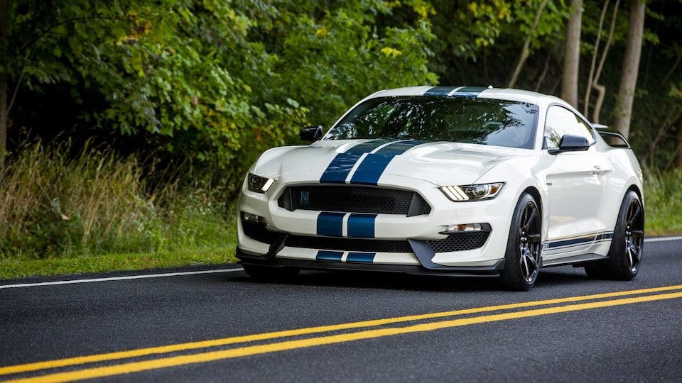 La Ford Mustang Shelby GT350R  2020.