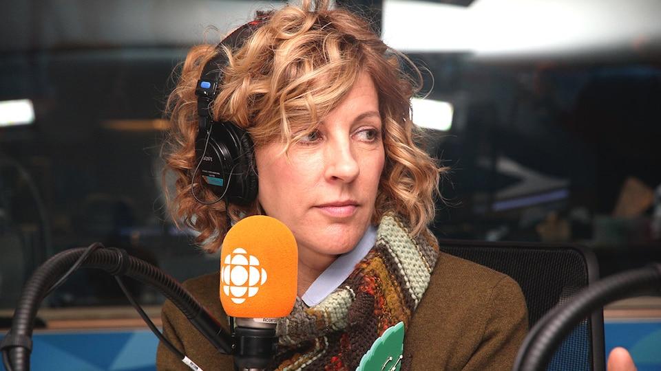 La comédienne en entrevue à On n'est pas sorti de l'auberge