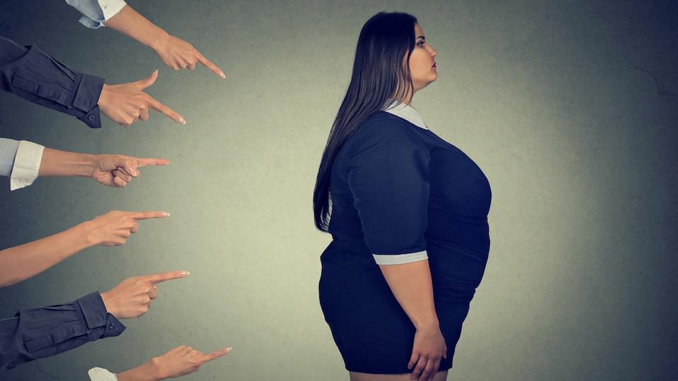 Les mots utilisés pour senbiliser à l'obésité blessent et stigmatisent les personnes qui en souffrent.