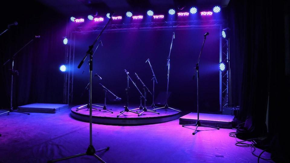 Sonorisation Trans-Musical met un studio à la disposition des artistes de la Côte-Nord.
