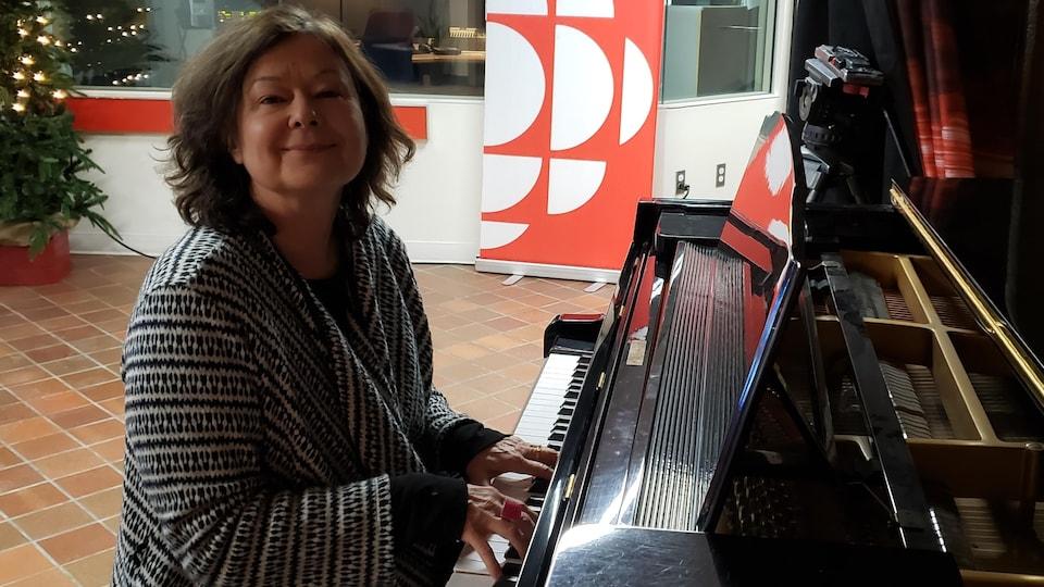 Sylvie Tremblay au piano