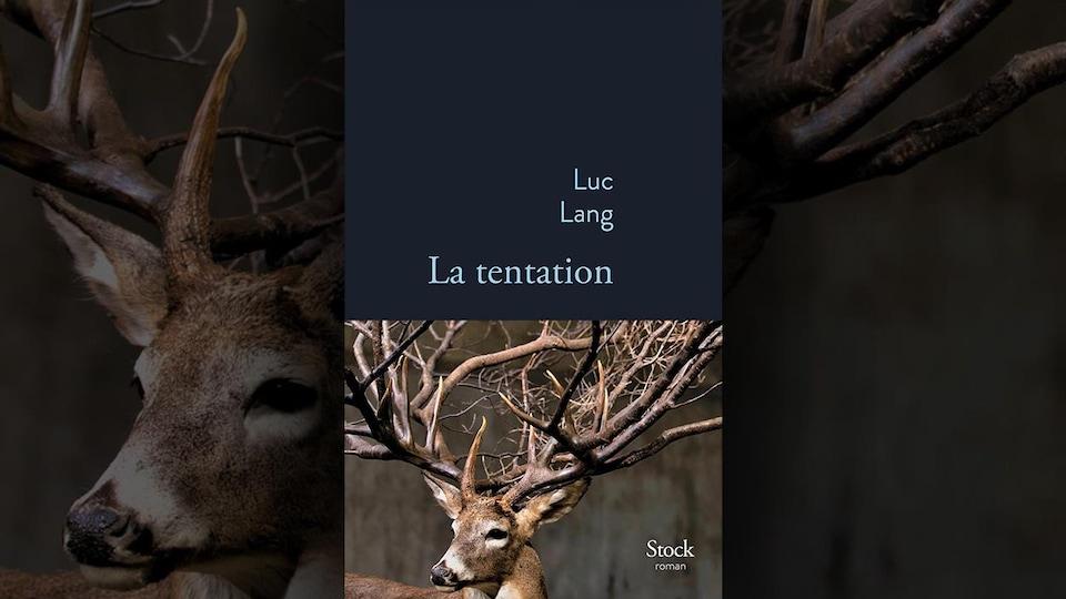 La couverture d'un livre qui montre la photo d'un cerf dont les bois ressemblent à un arbre.