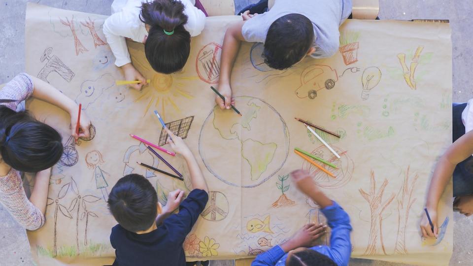 Le centre d'apprentissage Mont libre.