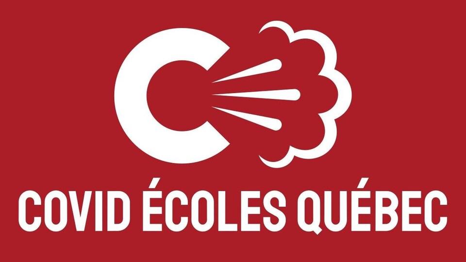 Le logo du site COVID ÉCOLES QUÉBEC