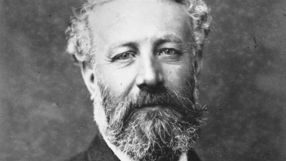 L'écrivain français Jules Verne